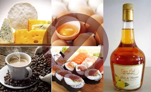 5 loại thực phẩm nên tránh trước khi mang thai