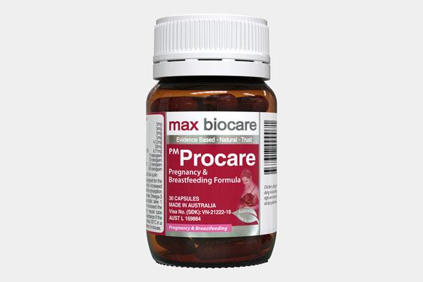 Thành phần của thuốc bổ cho bà bầu Procare 1