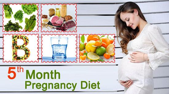 3, Chế độ dinh dưỡng bà bầu tháng thứ 5 1