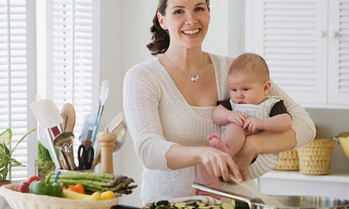 Làm thế nào để mẹ có sữa nhiều, sữa thơm và mát? 1