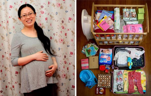 Chuẩn bị sinh con bà bầu cần chuẩn bị những gì? 1