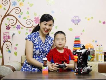 Chia sẻ của mẹ Trần Phương Anh về ăn uống khi mang thai