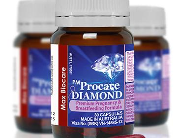 Thành phần của thuốc bổ bà bầu PM Procare Diamond