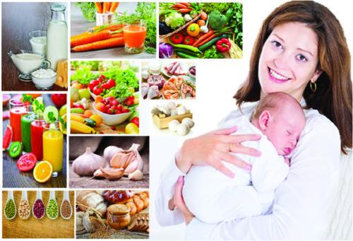 Thực đơn cho mẹ sau sinh nhiều sữa mà không hề tăng cân