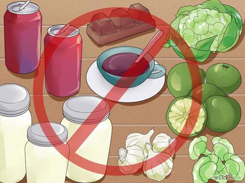 Mẹ cho con bú không nên ăn gì? 1
