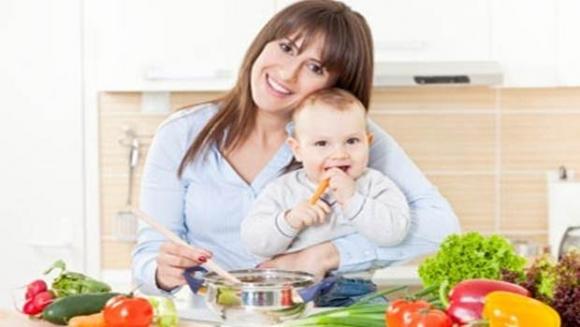 Chế độ dinh dưỡng của mẹ cho con bú 1
