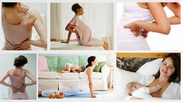 Thủ phạm gây đau lưng sau sinh và cách phòng ngừa