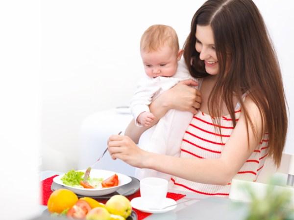 Mẹ sau sinh nên ăn gì? 1