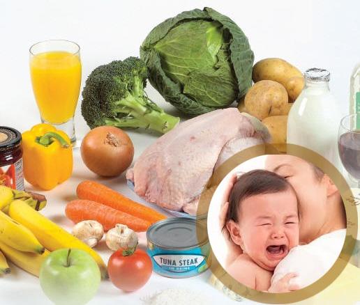 Trẻ sơ sinh bị tiêu chảy mẹ nên ăn gì? 1