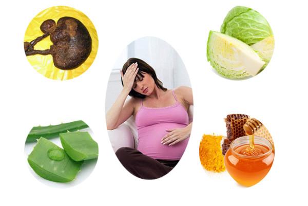 Cách chữa đau dạ dày khi mang thai 1