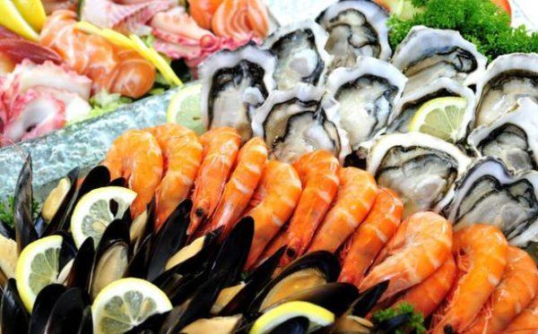 Thực phẩm giàu canxi cho bà bầu nhóm hải sản 1