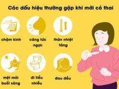 9 dấu hiệu ĐẶC TRƯNG biểu hiện mang thai sớm