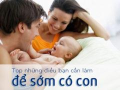 Top những điều cần làm để tăng khả năng mang thai của cả 2 vợ chồng